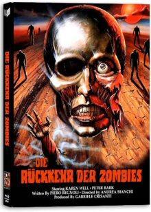 Die Rückkehr der Zombies (Lim. Uncut Mediabook, Blu-ray+DVD, Cover B) (1980) [FSK 18] [Blu-ray]