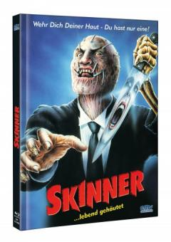 Skinner ...lebend gehäutet (Limited Mediabook, Blu-ray+DVD, Cover A) (1991) [FSK 18] [Blu-ray]