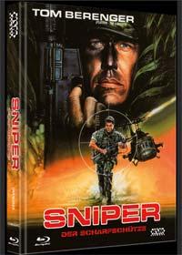 Sniper - Der Scharfschütze (Limited Mediabook, Blu-ray+DVD, Cover A) (1992) [FSK 18] [Blu-ray]