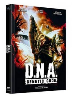 D.N.A. - Genetic Code (2 Disc Limited Mediabook, Cover D) (1997) [Blu-ray]