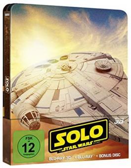 Solo: A Star Wars Story (Limited Steelbook, 3D Blu-ray+Blu-ray+Bonus Disc) (2018) [3D Blu-ray]