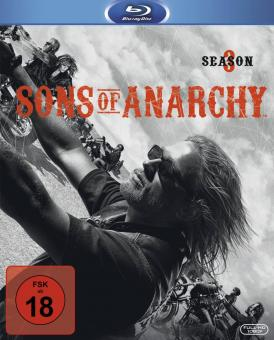 Sons of Anarchy - Season 3 (3 Discs) [FSK 18] [Blu-ray]