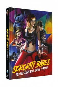 Sorority Babes in the Slimeball Bowl-O-Rama (Limited Mediabook, Blu-ray+DVD, Cover C) (1988) [Blu-ray]
