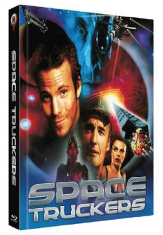 Space Truckers (Limited Mediabook, Blu-ray+DVD, Cover A) (1996) [Blu-ray]