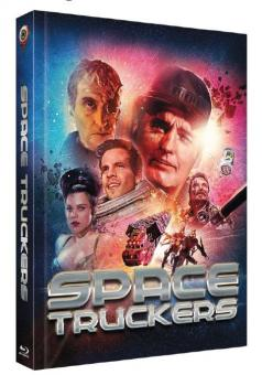 Space Truckers (Limited Mediabook, Blu-ray+DVD, Cover B) (1996) [Blu-ray]
