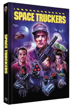 Space Truckers (Limited Mediabook, Blu-ray+DVD, Cover C) (1996) [Blu-ray]