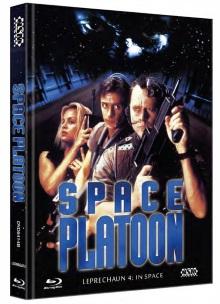Leprechaun 4 - In Space (Limited Mediabook, Blu-ray+DVD, Cover B) (1995) [FSK 18] [Blu-ray]