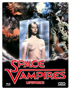 Lifeforce - Die tödliche Bedrohung (FuturePak, Cover B) (1985) [Blu-ray]