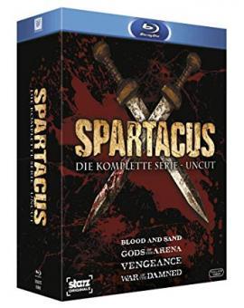Spartacus (Die komplette Serie, Uncut) [FSK 18] [Blu-ray]
