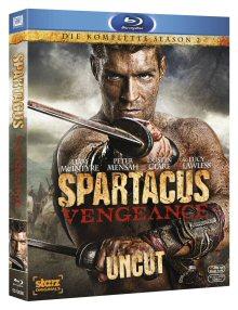 Spartacus: Vengeance - Die komplette Season 2 (Uncut) [FSK 18] [Blu-ray]