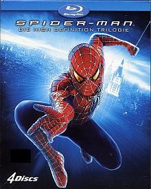 Spider-Man Trilogie (4 Discs) [Blu-ray]