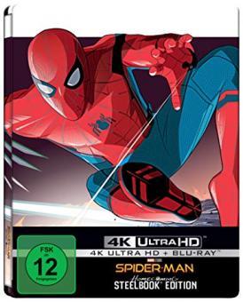 Spider-Man: Homecoming (Limited Steelbook, 4K Ultra HD+Blu-ray) (2017) [4K Ultra HD]