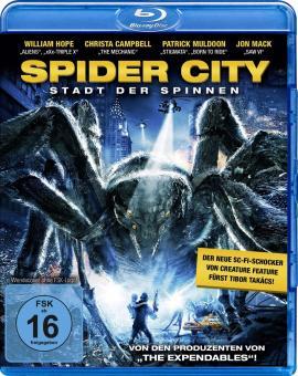 Spider City - Stadt der Spinnen (2013) [Blu-ray]