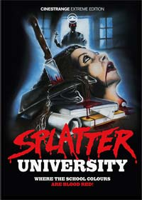 Highschool des Grauens - Splatter University (Limited Mediabook, Blu-ray+DVD, Cover C) (1984) [FSK 18] [Blu-ray]