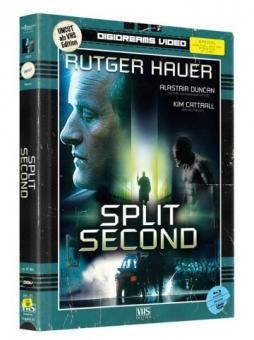 Split Second (Limited Mediabook, VHS Edition, Blu-ray+DVD) (1992) [FSK 18] [Blu-ray]