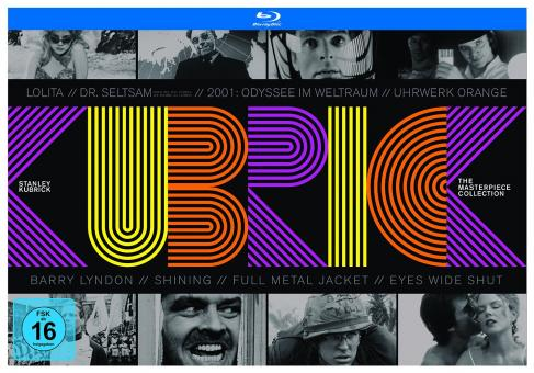Stanley Kubrick - The Masterpiece Collection (10 Discs) [Blu-ray]
