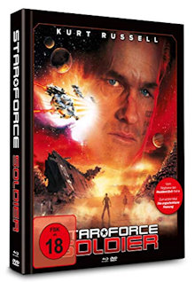 Star Force Soldier (Limited Uncut Mediabook, Blu-ray+DVD, Cover A) (1998) [FSK 18] [Blu-ray]