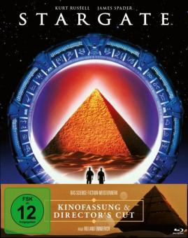 Stargate (Limited Mediabook, Director's Cut + Kinofassung, 2 Discs, Cover C) (1994) [Blu-ray]