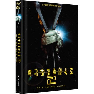 Starship Troopers II - Held der Föderation (Limited Mediabook, Blu-ray+DVD, Cover A) (2004) [FSK 18] [Blu-ray]