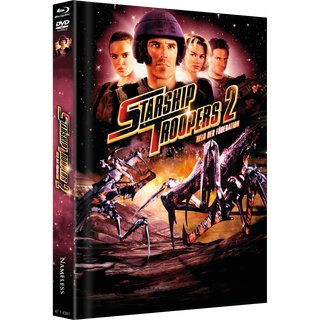 Starship Troopers II - Held der Föderation (Limited Mediabook, Blu-ray+DVD, Cover C) (2004) [FSK 18] [Blu-ray]