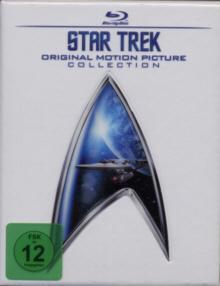 Star Trek - Original Motion Picture Collection 1-6 (7 Discs) [Blu-ray]