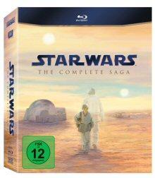 Star Wars: The Complete Saga I-VI (9 Discs) [Blu-ray]