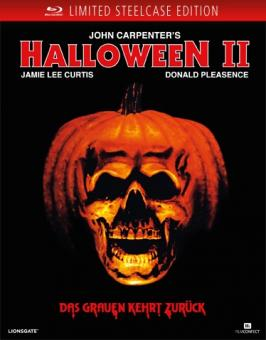 Halloween 2 (Limited Uncut Steelcase Edition mit Soundchip und LED) (1981) [FSK 18] [Blu-ray]
