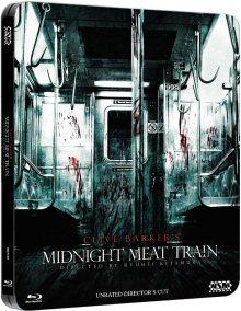 Midnight Meat Train (Unrated Director's Cut im limitierten Steelbook) (2008) [FSK 18] [Blu-ray]