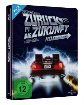 Zurück in die Zukunft Trilogie (Limited Steelbook, 3 Discs) [Blu-ray]