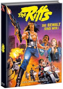 The Riffs - Die Gewalt sind wir (Limited Mediabook, Blu-ray+DVD, Cover B) (1982) [FSK 18] [Blu-ray]