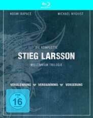 Stieg Larsson - Millenium Trilogie (4 Discs) [Blu-ray]