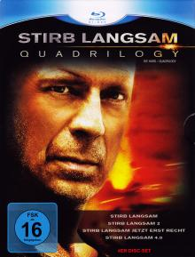 Stirb langsam 1-4 [Blu-ray]