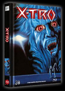 X-Tro - Nicht alle Außerirdischen sind freundlich (Limited Mediabook, Blu-ray+DVD, Cover E) (1982) [Blu-ray]