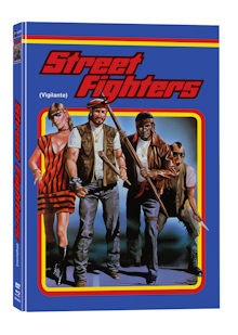 Street Fighters (Vigilante) (Limited Mediabook, Blu-ray+DVD, Cover A) (1982) [FSK 18] [Blu-ray]