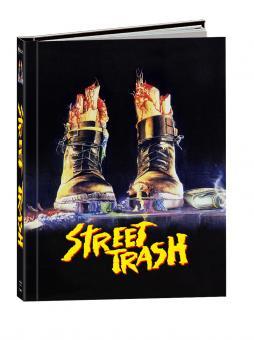 Street Trash (Limited Wattiertes Mediabook, Blu-ray+DVD+CD) (1987) [FSK 18] [Blu-ray]
