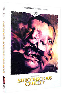 Subconscious Cruelty (Limited Mediabook, Blu-ray+DVD, Cover A) (2000) [FSK 18] [Blu-ray]