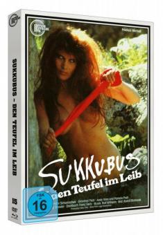 Sukkubus - den Teufel im Leib - Edition Deutsche Vita # 15 (Limited Edition, Blu-ray+DVD, Cover A) (1989) [Blu-ray]