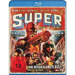 Super - Shut Up, Crime! (2010) [FSK 18] [Blu-ray]