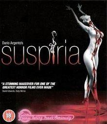 Suspiria (1977) [FSK 18] [UK Import] [Blu-ray]