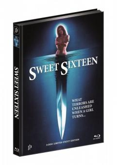 Blutiges Inferno - Sweet Sixteen (Limited Mediabook, Blu-ray+DVD, Cover A) (1983) [FSK 18] [Blu-ray]