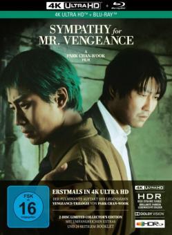 Sympathy for Mr. Vengeance (Limited Mediabook, 4K Ultra HD+Blu-ray) (2002) [4K Ultra HD]