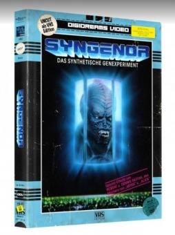 Syngenor - Das synthetische Genexperiment (Limited Mediabook, VHS Edition, Blu-ray+DVD) (1990) [Blu-ray]