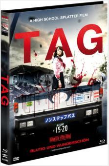 Tag (Limited Mediabook, Blu-ray+DVD, Cover A) (2015) [FSK 18] [Blu-ray]