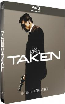 96 Hours - Taken (Steelbook, +DVD) (2008) [EU Import] [Blu-ray]