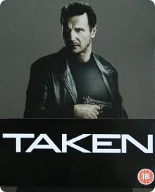 96 Hours - Taken (Steelbook) (2008) [UK Import mit dt. Ton] [Blu-ray]