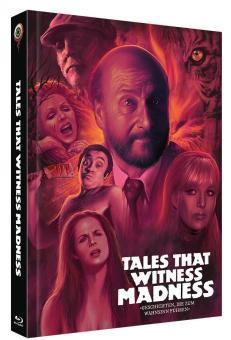 Geschichten die zum Wahnsinn führen (Limited Mediabook, Blu-ray+DVD, Cover B) (1973) [Blu-ray]