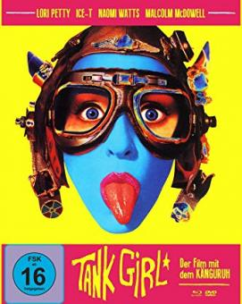 Tank Girl (Limited Mediabook, Blu-ray+DVD, Cover A) (1995) [Blu-ray]