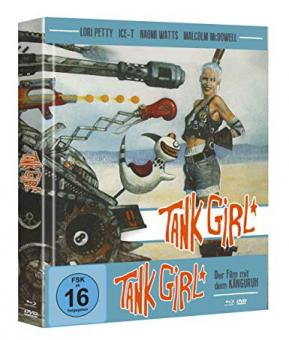 Tank Girl (Limited Mediabook, Blu-ray+DVD, Cover B) (1995) [Blu-ray]