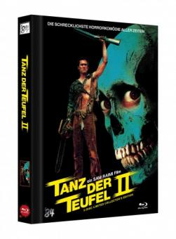 Tanz der Teufel 2 (3 Disc Limited Mediabook, 4K Ultra HD+Blu-ray, Cover D) (1987) [4K Ultra HD]