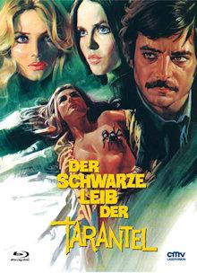 Der schwarze Leib der Tarantel (Limited Mediabook, Blu-ray+DVD, Cover B) (1972) [FSK 18] [Blu-ray]